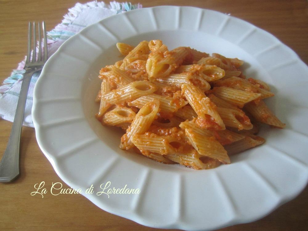 spaghetti con pesto di tonno