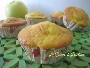 muffins con mele e yogurt
