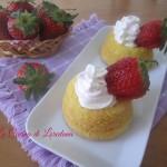 tortine sofficissime con fragole