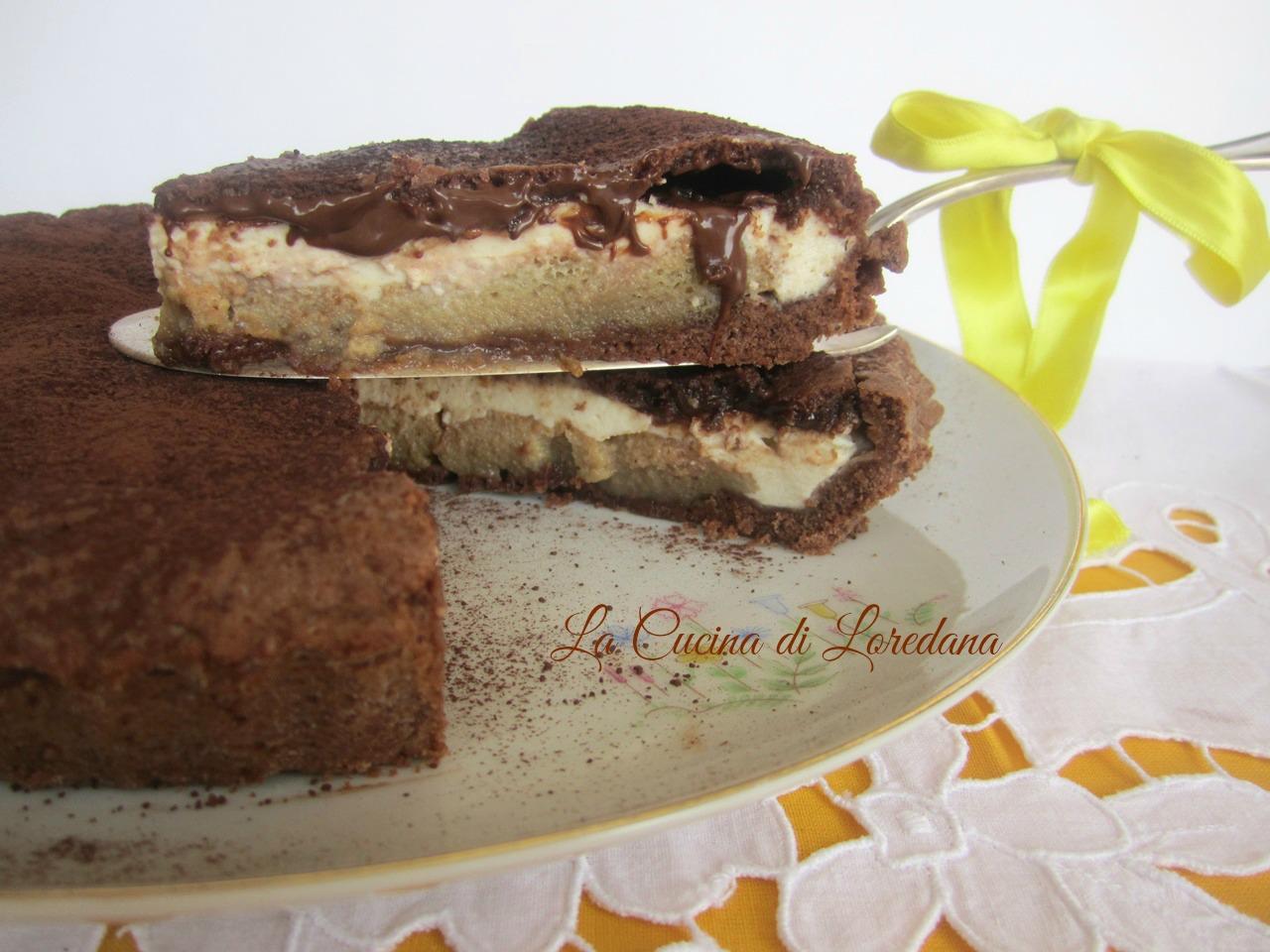Crostata al tiramis e nutella la cucina di loredana - La cucina di loredana ...