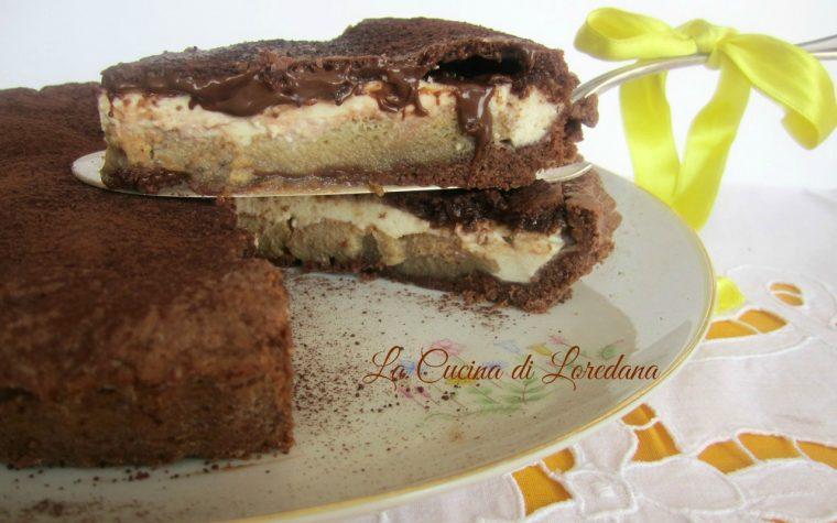 Crostata al Tiramisù e Nutella