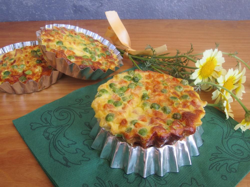 frittatine con verdure