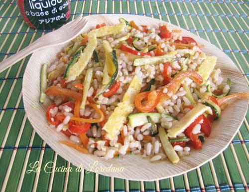 Insalata di Cereali con verdure