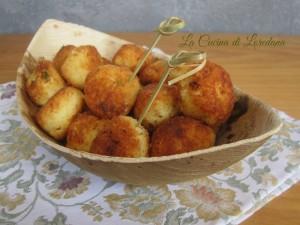 polpette di patate e ricotta