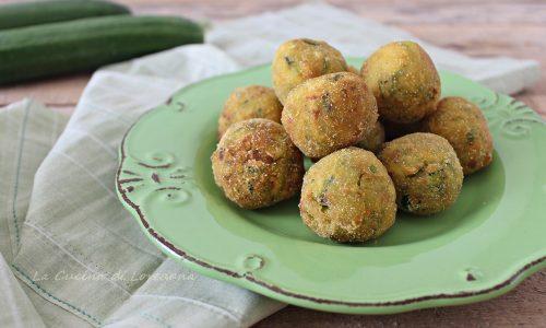 Polpette di Zucchine croccanti