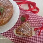 torta soffice con fragole