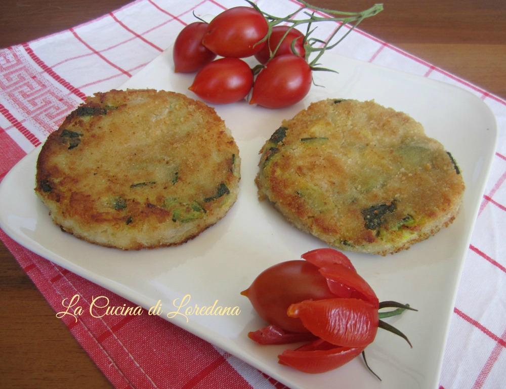Hamburger di zucchine la cucina di loredanala cucina di loredana - Loredana in cucina ...