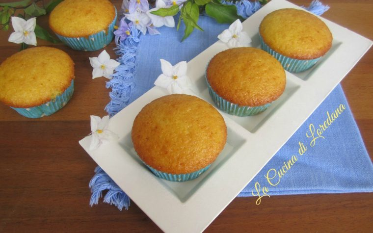 Muffin leggerissimi alle Arance