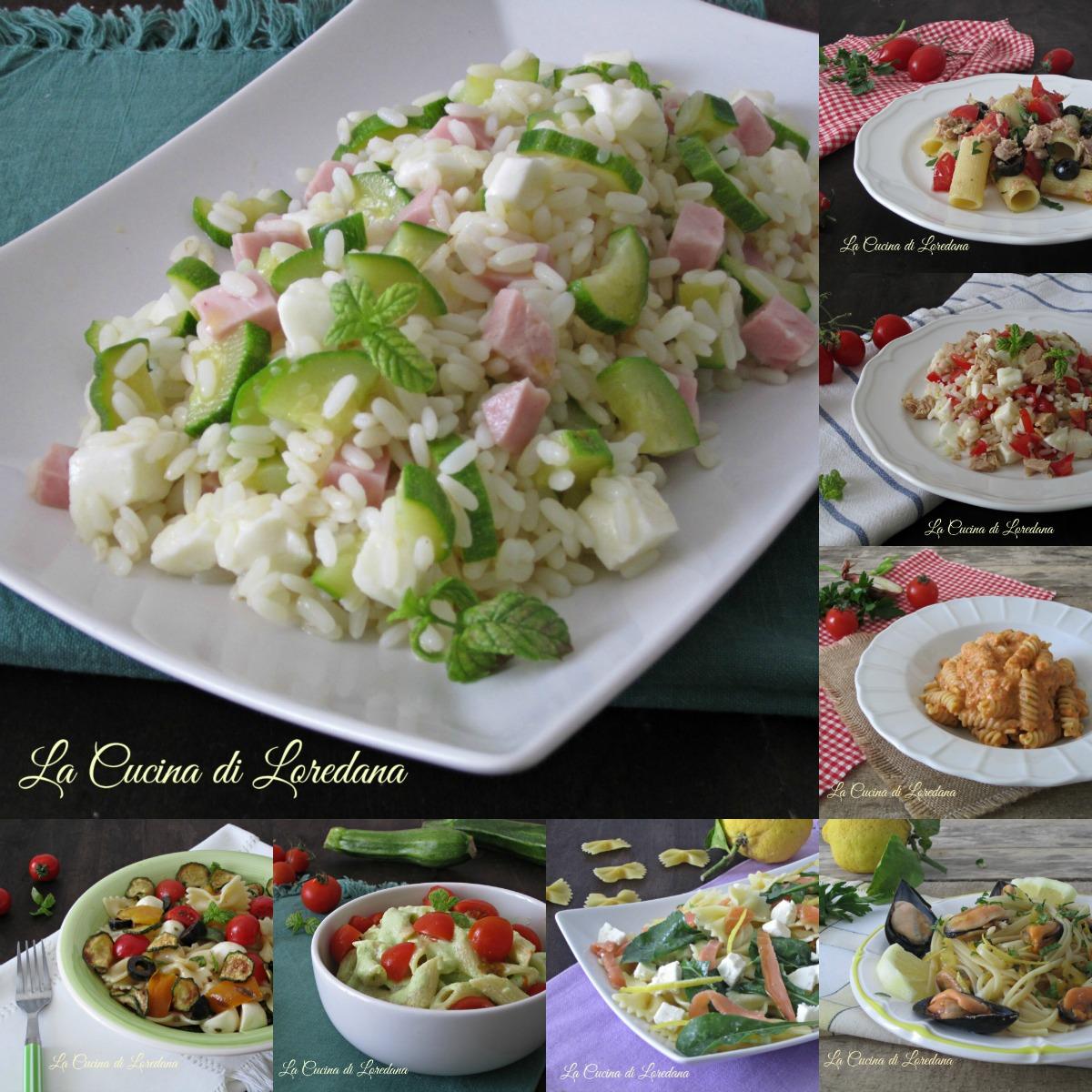 Primi piatti freddi ricette per l 39 estate for Ricette cucina semplici