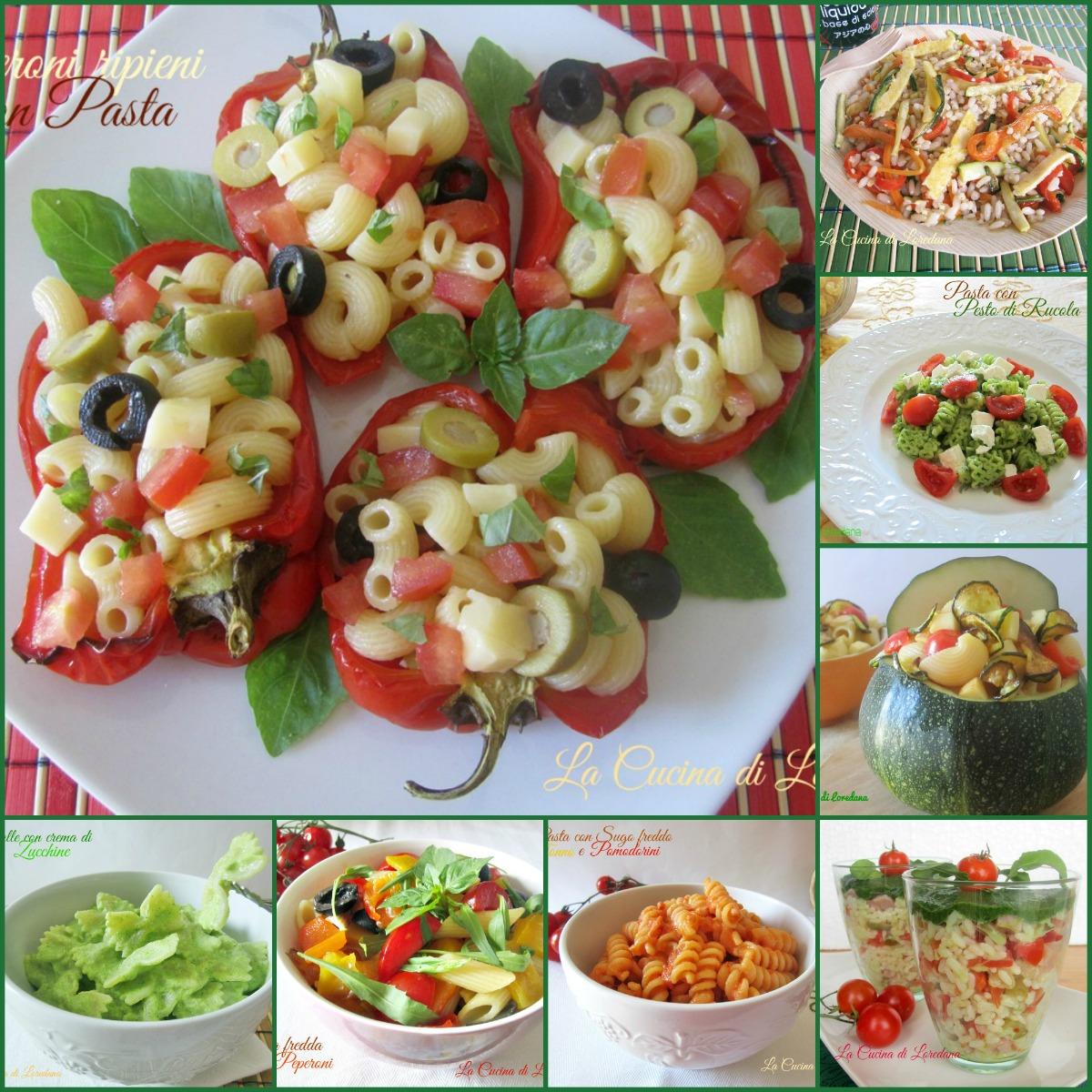 Primi piatti freddi la cucina di loredanala cucina di for Primi piatti freddi