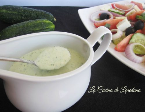 Salsa allo Yogurt e Cetrioli