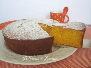 torta soffice carote e arance