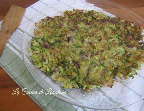 Rosti di Zucchine e Patate