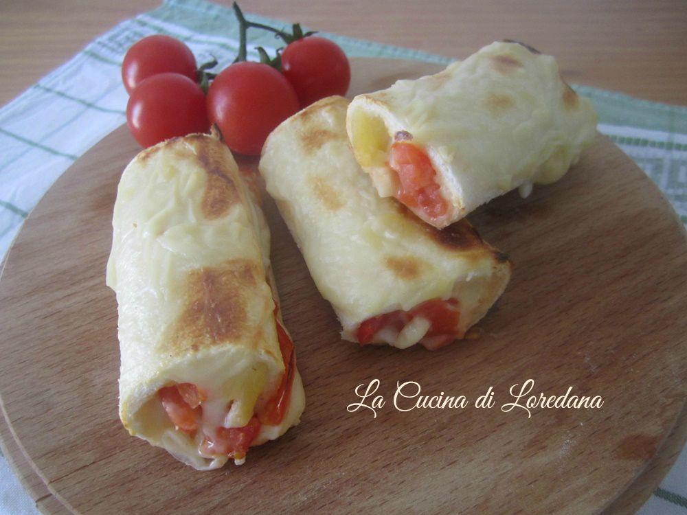 Rotolini con pomodoro e mozzarella la cucina di loredanala cucina di loredana - Loredana in cucina ...