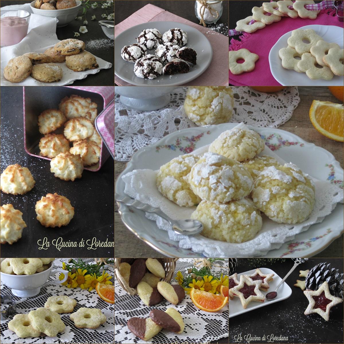 Ricette di biscotti la cucina di loredana - Loredana in cucina ...