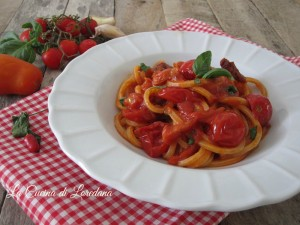 spaghetti ai 4 pomodori