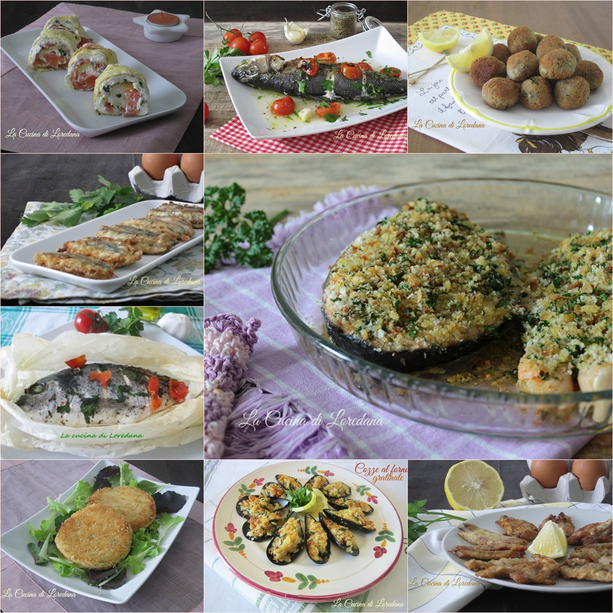 Secondi piatti di pesce per la vigilia di natale for Secondi piatti ricette