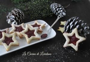 stelle di biscotti