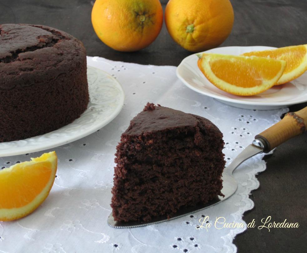 Torta arancia e cioccolato la cucina di loredana migliori ricette veloci - Loredana in cucina ...