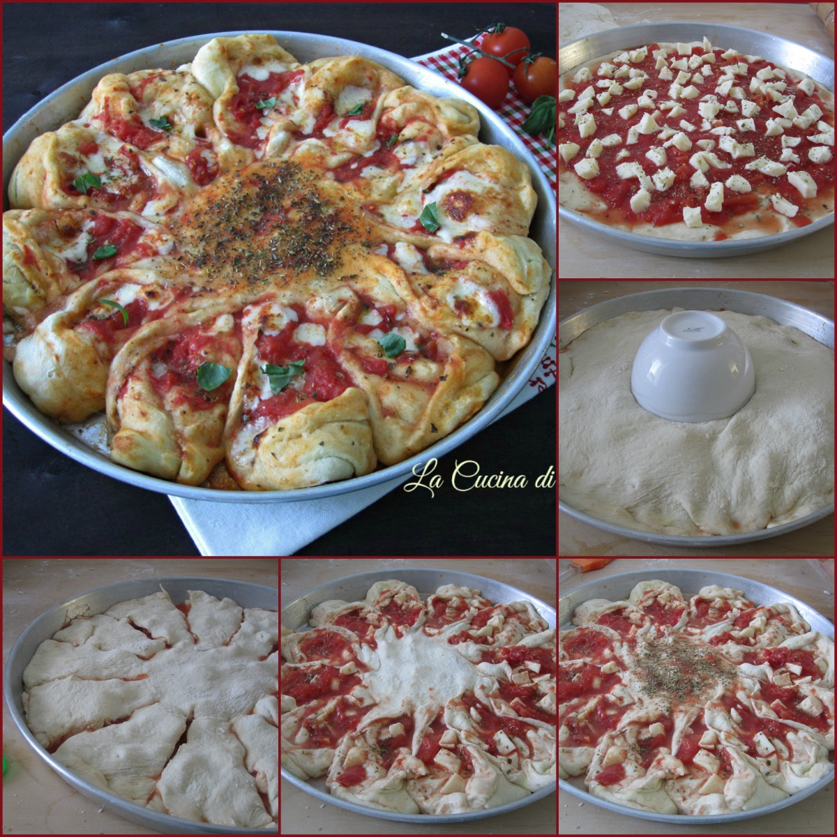 girasole di pizza