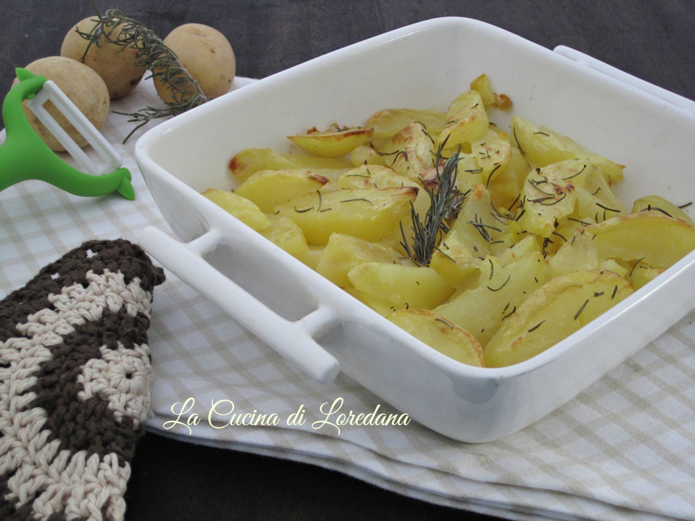 patate al forno semplici