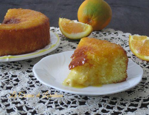 Torta arance e crema