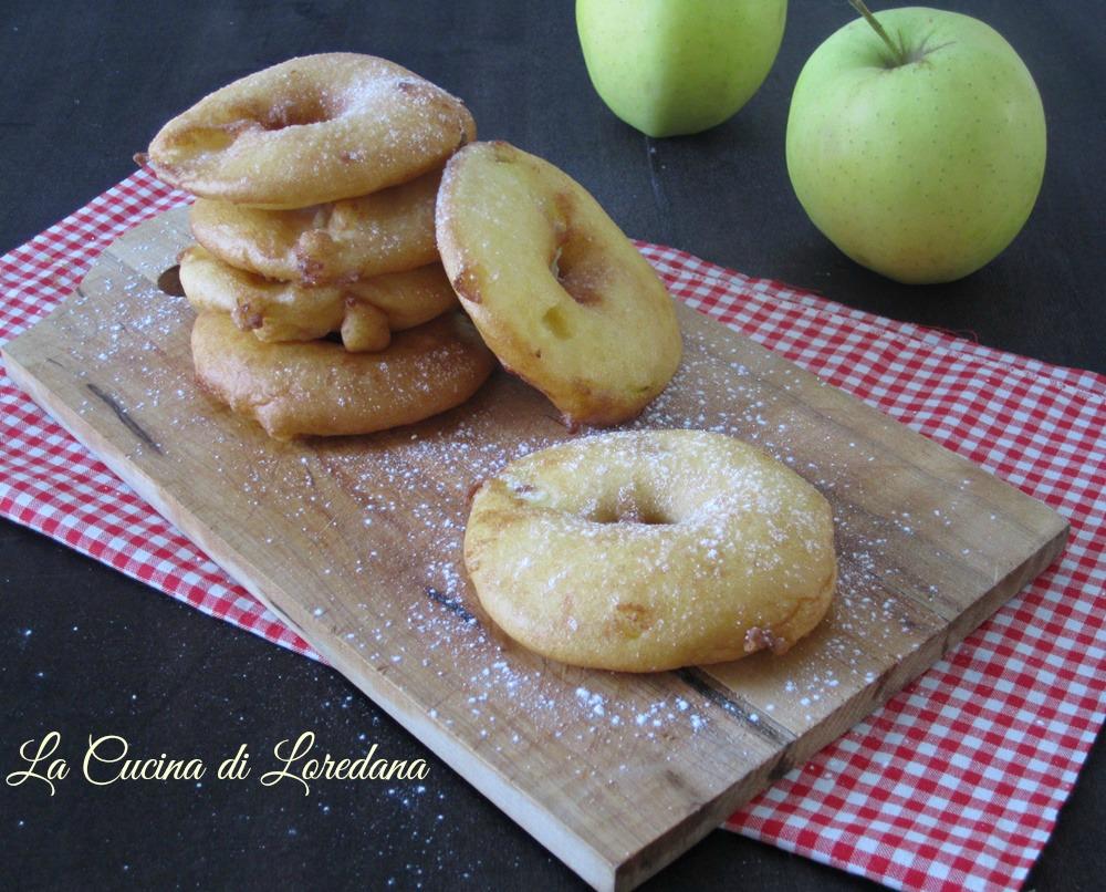 Ciambelle di mele la cucina di loredana - La cucina di loredana ...