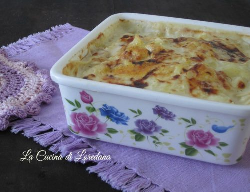 Gratin di patate alla fontina