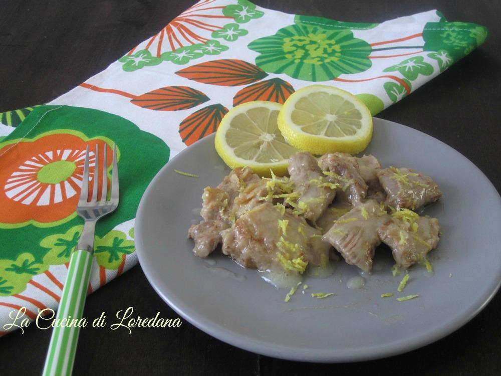 Bocconcini di tacchino al limone la cucina di loredana - Cucina con loredana ...