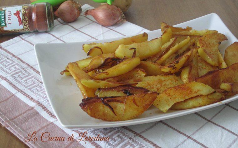 Patate alla paprika in padella