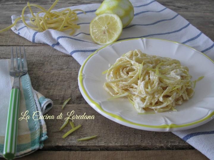tagliatelle al limone