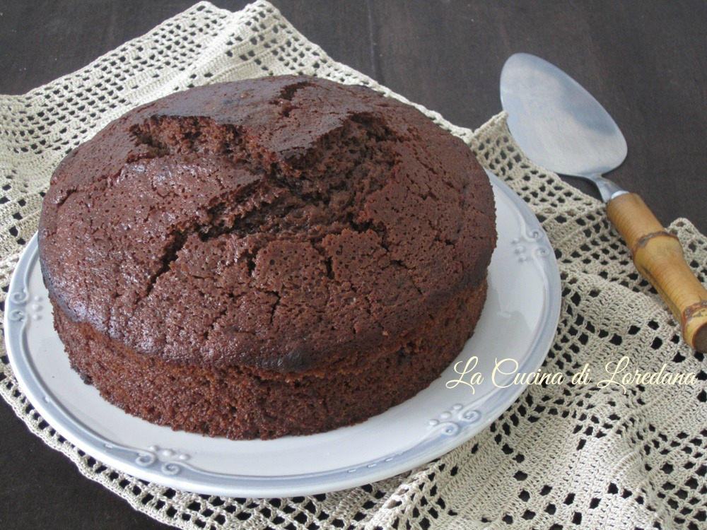 Torta Senza Uova Al Cioccolato.Torta Al Cioccolato Fondente