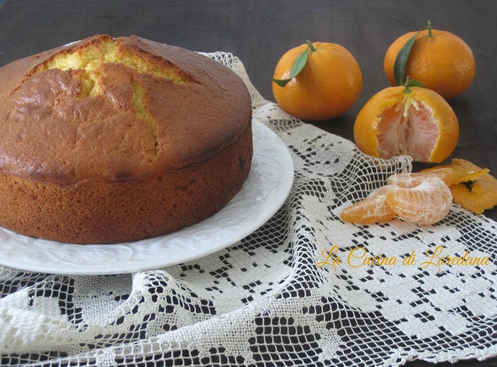 Torta soffice ai mandarini
