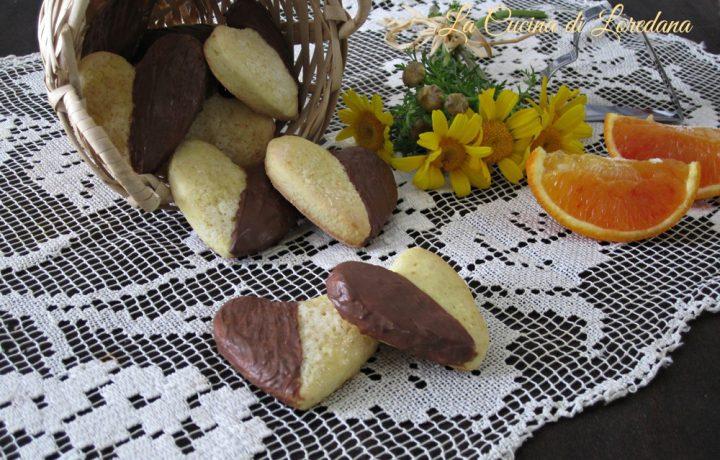 Cuori arancia e cioccolato
