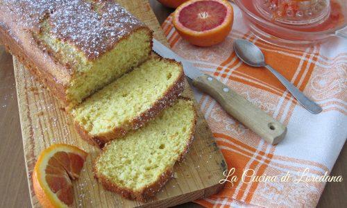 Plumcake soffice alle arance