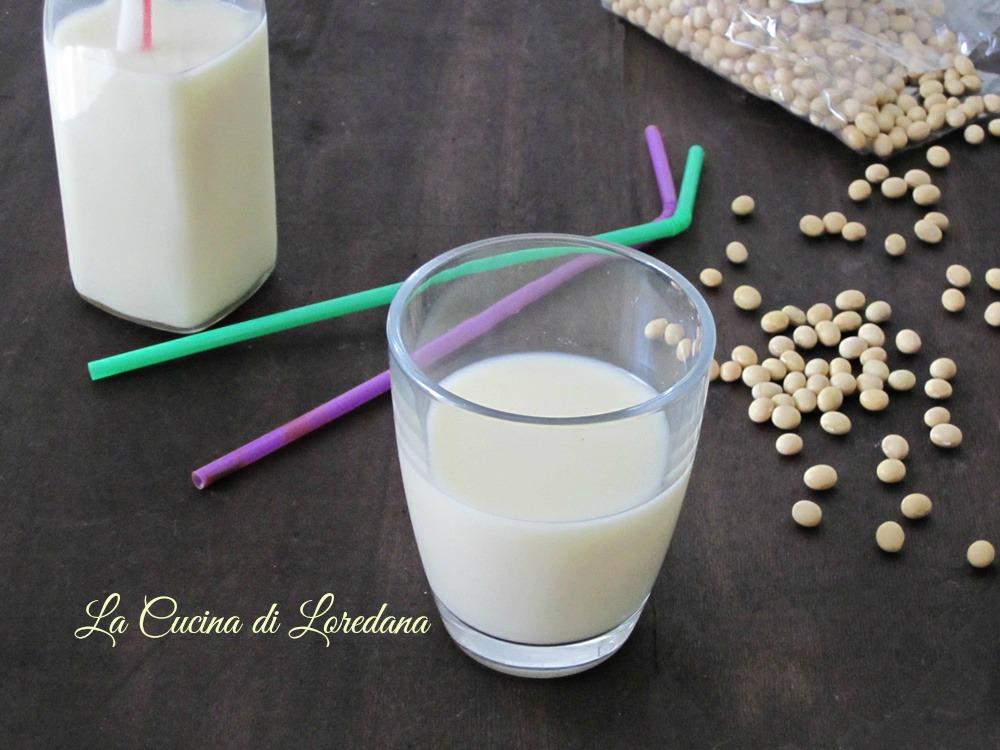 Come fare il latte di soia in casa