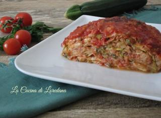parmigiana di zucchine veloce