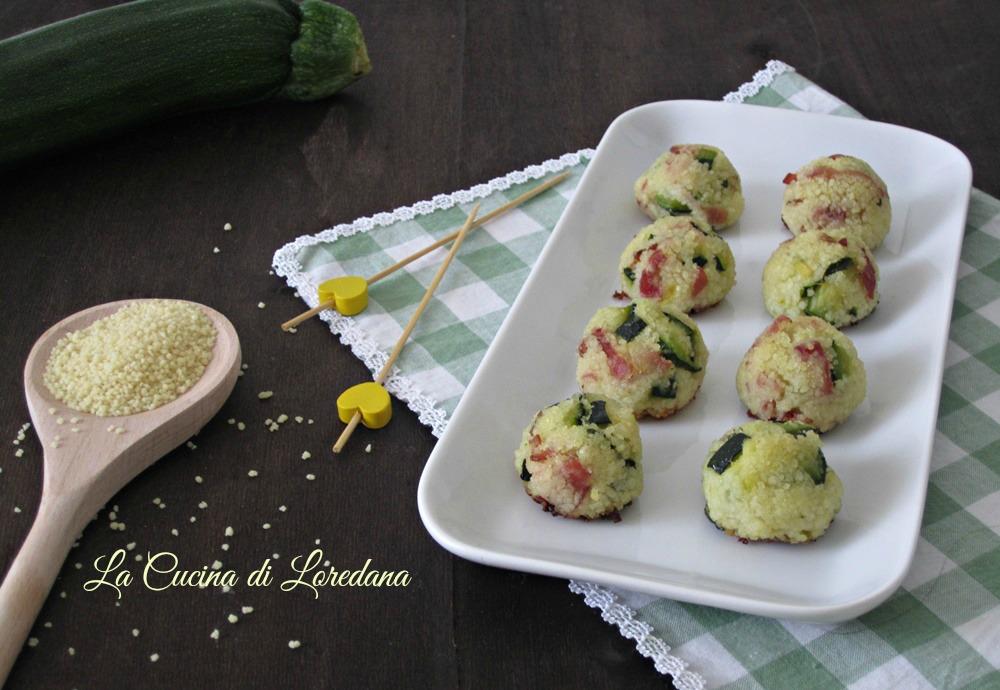 Polpette con zucchine e speck la cucina di loredana - Cucina con loredana ...