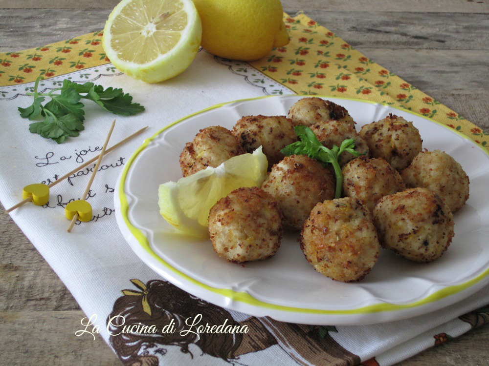 Polpette di pollo al limone sfiziose e delicate - Loredana in cucina ...