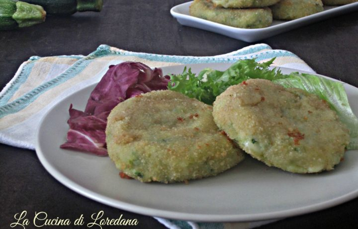 Medaglioni con zucchine e patate