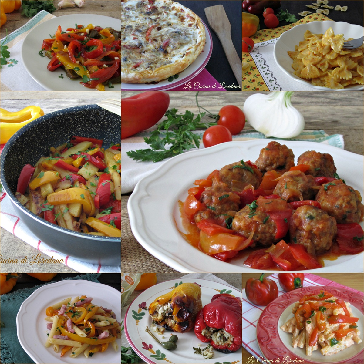ricette con peperoni