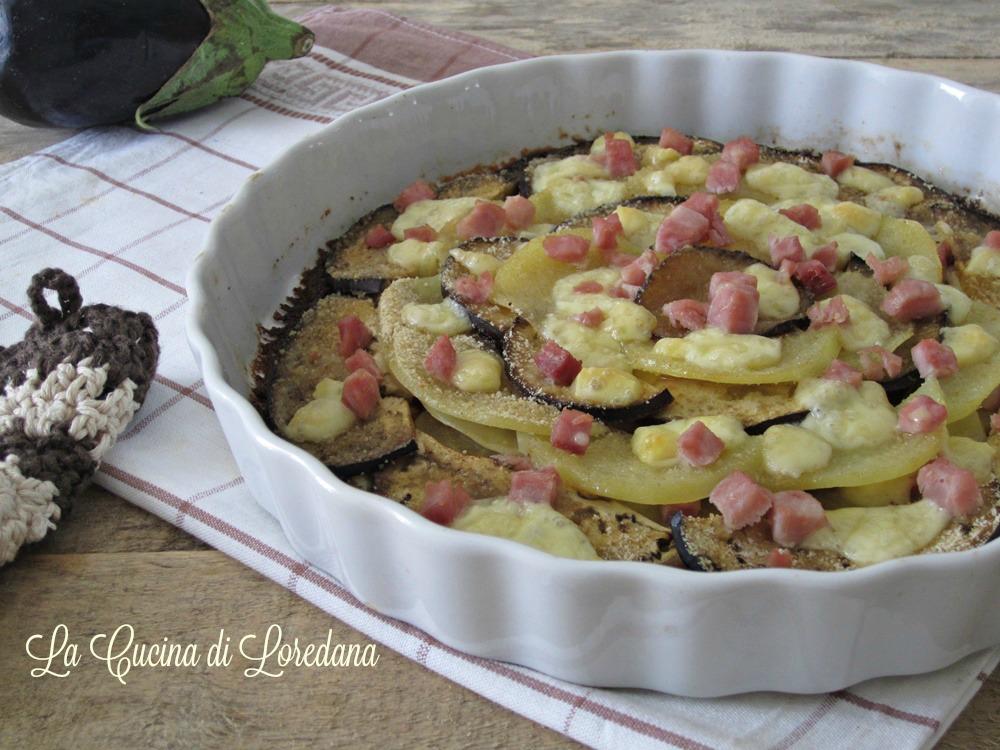 Melanzane e patate al forno una semplice e squisita bont - Forno e microonde insieme ...