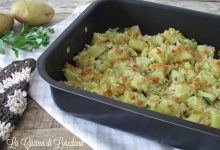 Patate al forno con la mollica