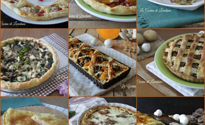 Torte salate archives la cucina di loredana for Torte salate con pasta sfoglia