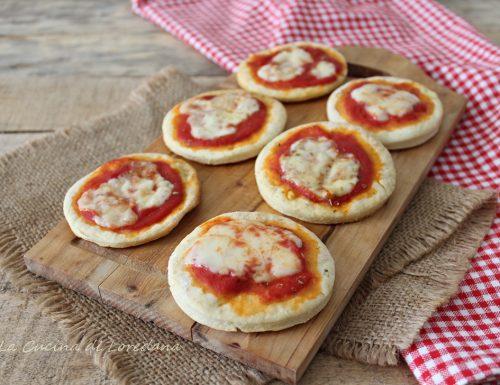 Pizzette veloci al pomodoro