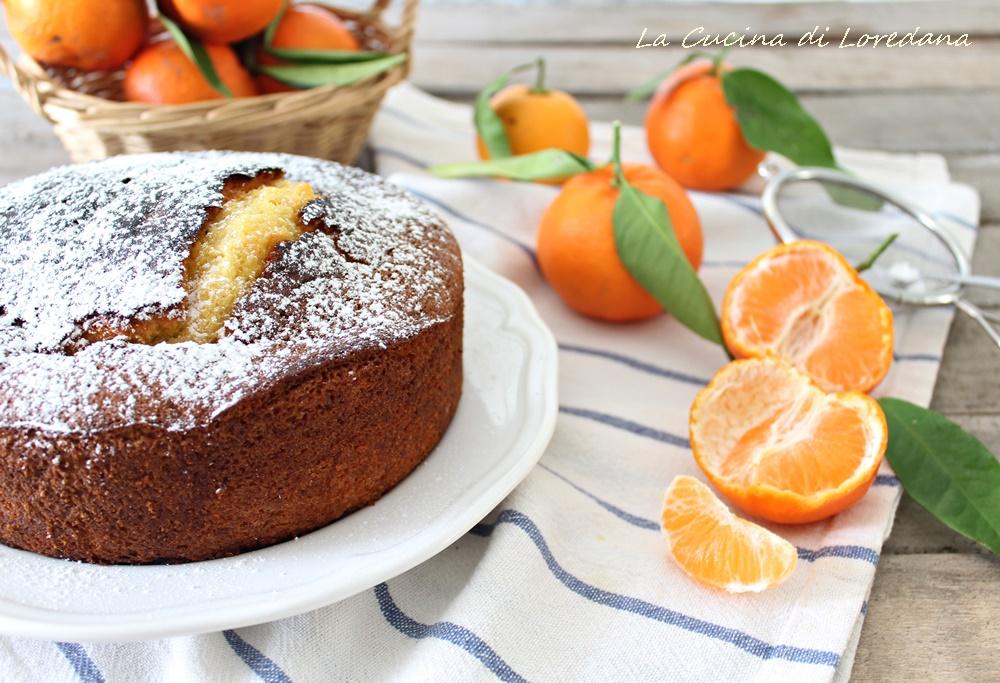 torta soffice alle clementine