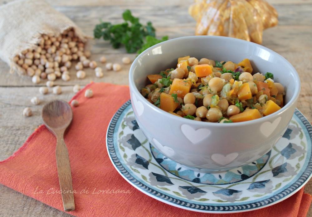 Zuppa di ceci e zucca la cucina di loredana - Loredana in cucina ...