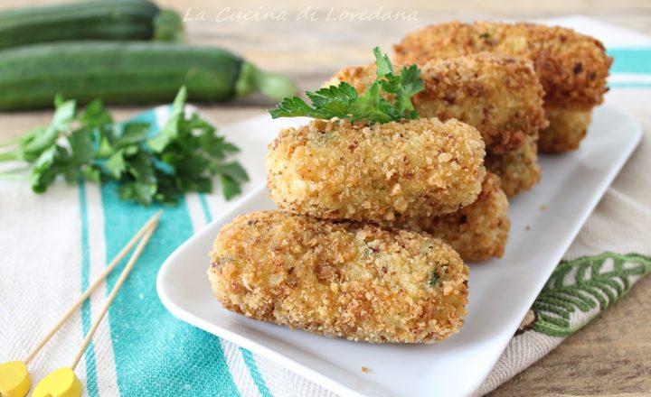 Crocchette di zucchine e patate