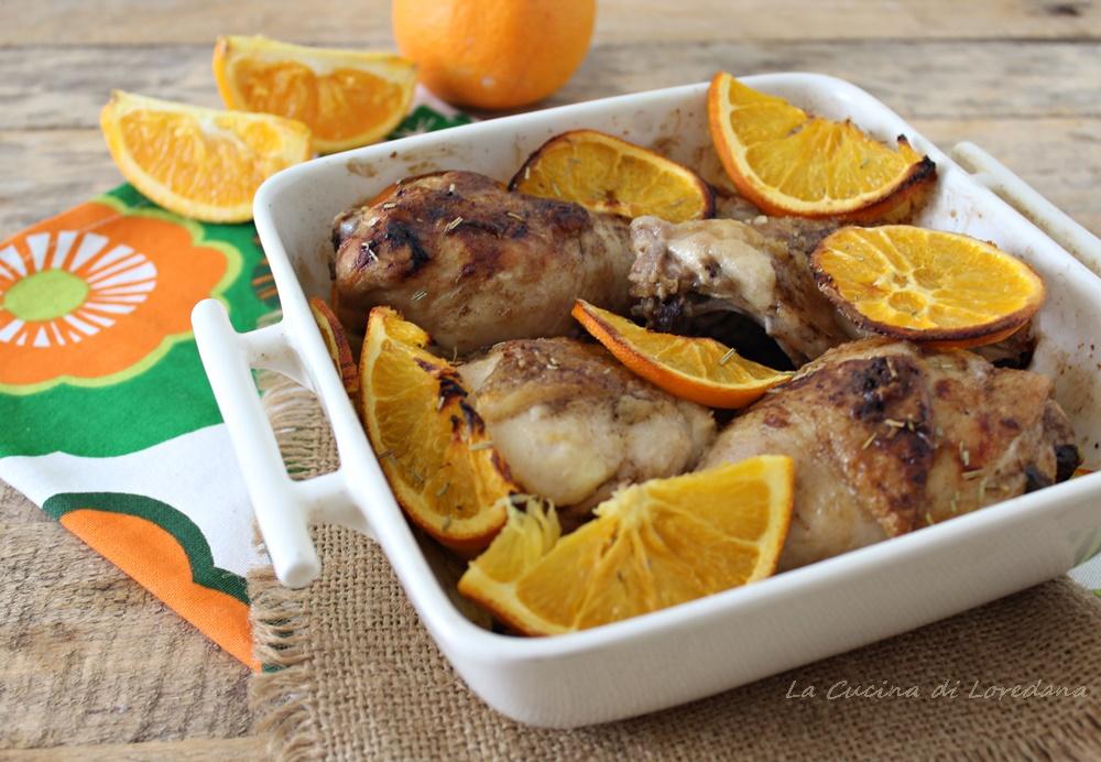 pollo all arancia