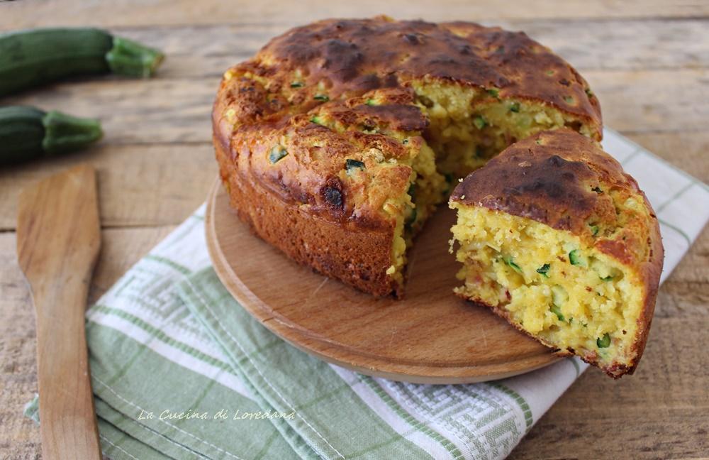 torta con zucchine